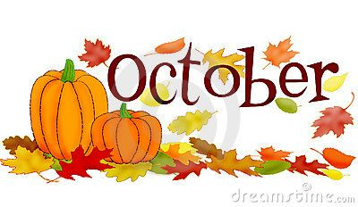 October Month Clipart | October clipart, Clip art, Hello october images