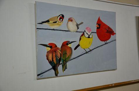 Akrilik Boya Tuval Sanat Gorsel Sanatlar Ve Resim