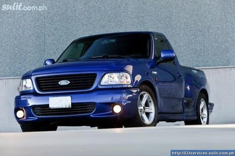 Blue Ford Lightning Svt Ford Svt F150 Lightning 2003 Electric