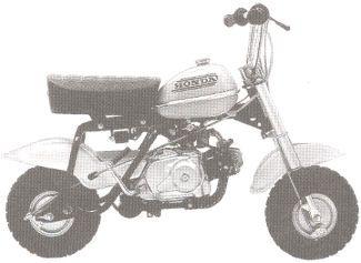 1975 Honda Qa50 Honda Bike 50cc