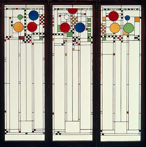 Window- Frank Lloyd Wright