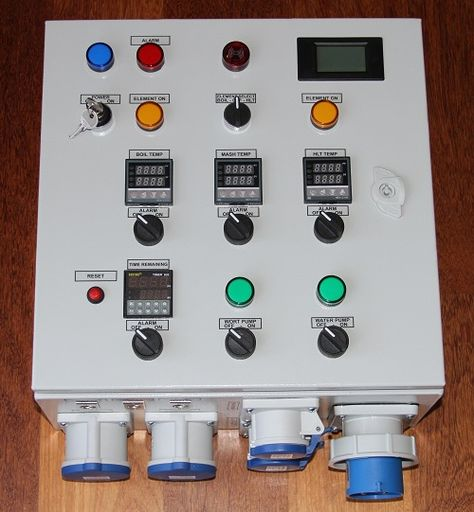My Aussie Electric Brewery Build Control Panel Electricity Brewery Brewery Design