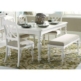 Overstock Com Online Shopping Bedding Furniture Electronics Jewelry Clothing More Kitchen Table Settings White Kitchen Table White Dining Room Table