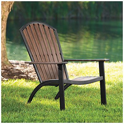 Wilson Fisher Euro Wood Adirondack Chair At Lots