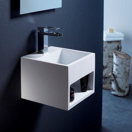 Ce lavabo blanc moderne apportera une touche design à votre ...