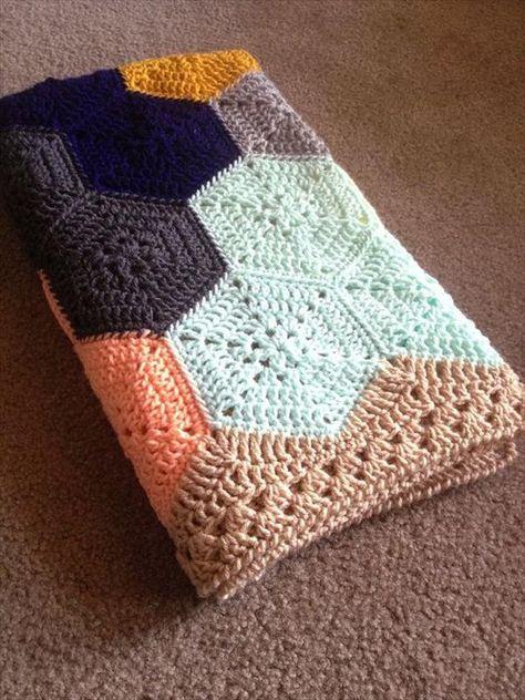 Intricate Crochet Baby Blanket Pattern : Crochet Bedspread Pinterestte T?? I?leri, Afgan ...