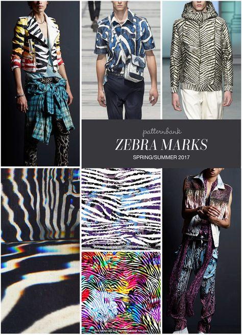 Menswear Spring/Summer 2017 – Key Print and Pattern Highlights - Zebra Marks