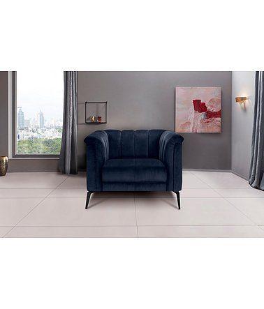 Inosign Sessel Lomani Im Stilvollem Design Blau Sessel Design