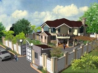 Modern House Plans In Kenya Beautiful House Designs Kenya Four Bedroom House Plans Bedroom House Plans House Plans