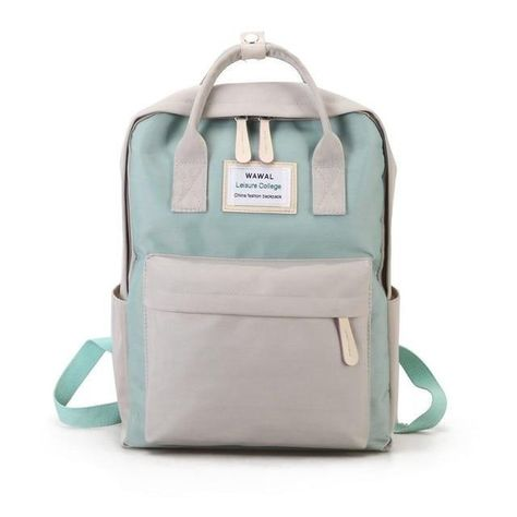 Californian Beach Canvas School Backpack is a roomy bag for your work or school supplies. Item Type: BackpacksHandle/Strap Type: Soft HandleInterior: Interior CompartmentGender: WomenLining Material: PolyesterStyle: FashionCarrying System: Arcuate Shoulder StrapDecoration: NoneBackpacks Type: SoftbackExterior: Solid BagMain Material: Canvas Best Laptop Backpack, Waterproof Laptop Backpack, Backpack Purse, Travel Backpack, Fashion Backpack, Beach Backpack, Fashion Bags, Style Fashion, Cute Canvas Backpack