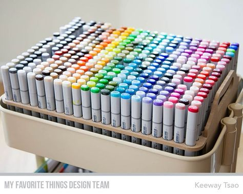 Copic Sketch Marker storage for IKEA Raskog & Michaels Lexington