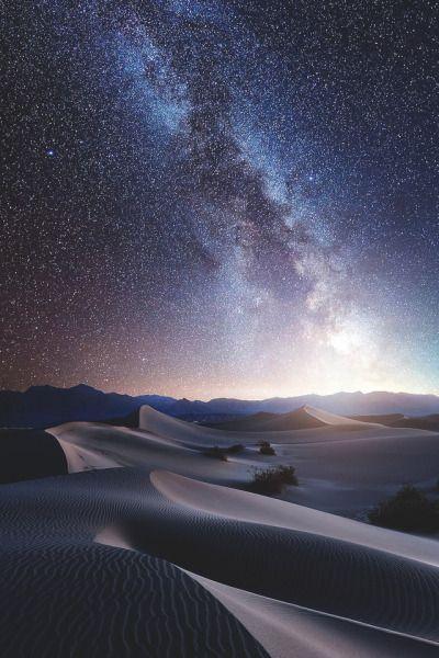 Desert Night Tumblr In 2020 Beautiful Landscapes Landscape Photography Landscape