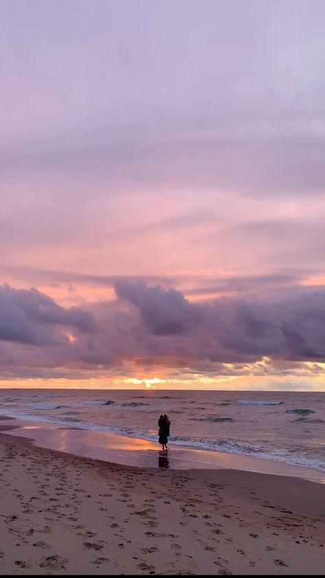 Peaceful Beach Walk
