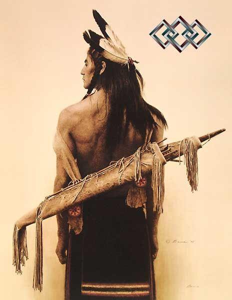 A Mountain Ute - James Bama