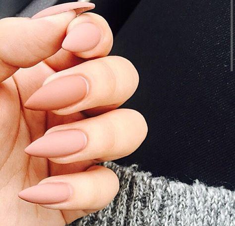 nude stiletto nails - Google Search