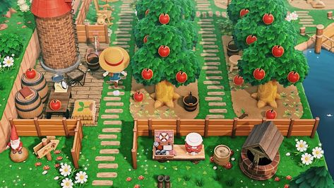 Animal Crossing Guide, Animal Crossing Qr Codes Clothes, Animal Games, My Animal, Motif Acnl, Witch Cottage, Tiny White Flowers, Cute Squirrel, Diy Greenhouse