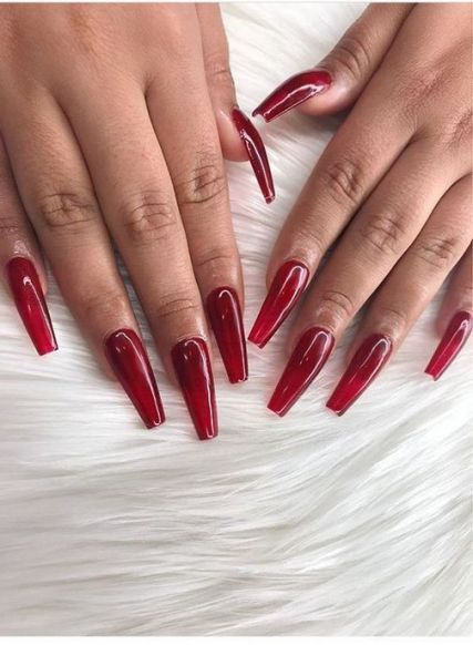 What To Expect From Glass Nails Clear Acrylic 58 Glass Nails Christmas Nails Jelly Nails