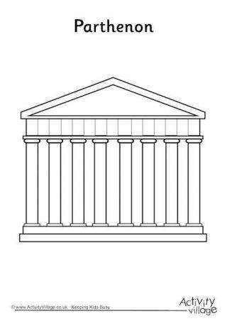 Ancient Greece Colouring Pages Ancient Greece Ancient Greece