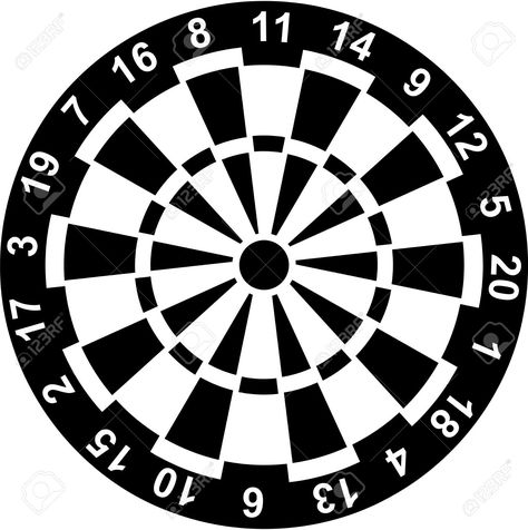 graphic relating to Printable Dart Board known as Pleasurable Match Objectives Some entertaining taking pictures aims which consist of