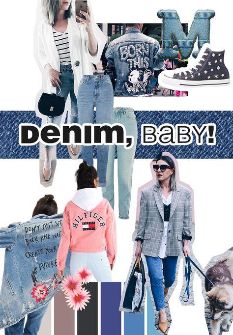 Fashion Mood Board Denim, Trend 2017, Fashion Trends Moodboard, Modetrends Inspiration, Style Blog, Modeblog, Fashion Blog, Inspiration, www.whoismocca.com