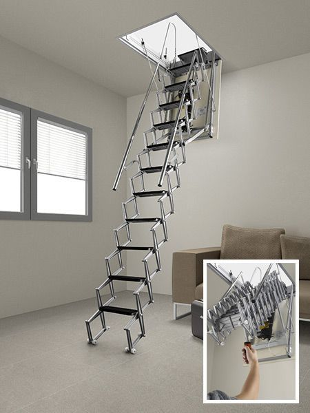 14++ Folding stairs for crawl space ideas