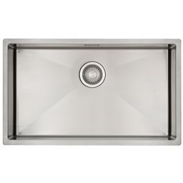 Mizzo Linea Kitchen Sink 1 2 7040 Undermount Flushmount Sink Stainless Steel Sinks Kitchen Taps