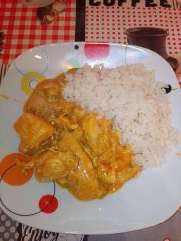 Pollo Estilo Indio Con Arroz En Mc Receta De Isa24 Receta Recetas De Comida Arroz Pollo