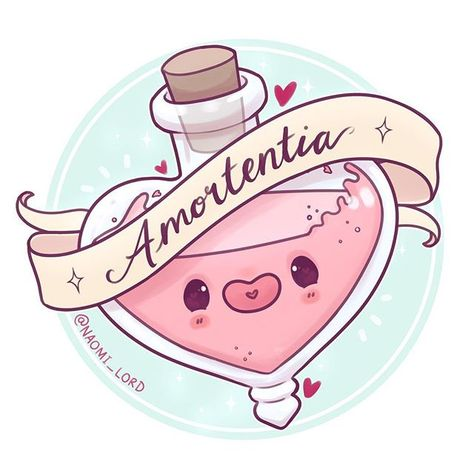 Amortentia!  Aka the worlds strongest love potion feel like it's appropriate for before Valentine's Day ✨which potion next?  Also the randomly selected winners of a custom chibi portrait for my 50k giveaway are: @muggles.fandom @chellyviolet @sassan_re @moonazine Congrats!  • #amortentia #lovepotion #cute #kawaii #chibi #harrypotter #harrypotterart #potion #hogwarts #witchcraft #instaart #instadaily #instaartist #illustrationoftheday #illustration #digitalart #digitalpainting