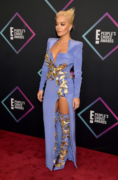 Rita Ora attends the People's Choice Awards 2018.
