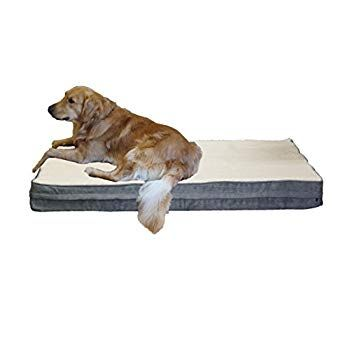 Petbed4less Jumbo Super Large Premium Orthopedic Memory Foam Dog Bed With Replaceable External Zipper C Dog Beds For Small Dogs Waterproof Dog Bed Dog Pet Beds