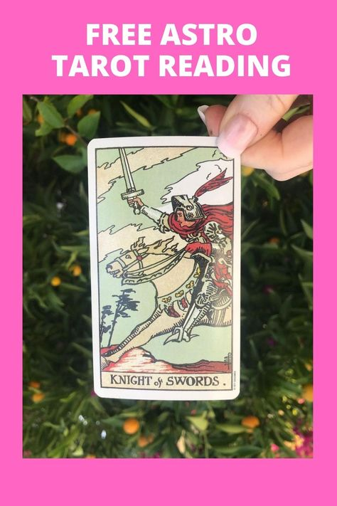 The KNIGHT of SWORDS * Big changes * Seize the moment * Be assertive * Ambitious * Take action Unlock the Answers You Seek With Divine Guidance from the Universe in Your Free AstroTarot Reading From Fortune Alexander ➡️Tap the Image For Your Astro Tarot Reading #tarot #energy #love #healing #psychicreadings #psychichealer #LawOfAttraction #manifest #spiritual #tarotreading #psychictarot #spiritualpsychic #lovepsychic #crystals #tarotcards #psychicreading #dailytarotreading #dailytarot