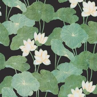 World Menagerie Dardanelle Lily Pads Peel And Stick Wallpaper Roll Wayfair Peel And Stick Wallpaper Lily Pads Wallpaper Roll
