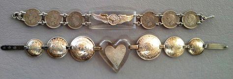a WW II lucite bracelets