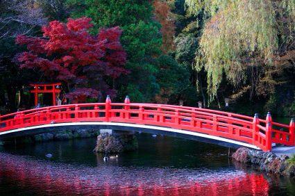 Japanese Bridges Are Just The Coolest Japan Pinterest