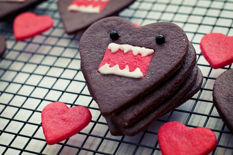 Domo-kun heart cookies