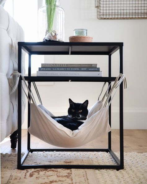 Cat Hammock - Places Like Heaven- Katzen-Hängematte – Places Like Heaven Cat Hammock cat hammock Diy Cat Hammock, Bedroom Hammock, Diy Cat Bed, Hammock Ideas, Hammock Bed, Cat Room, Cat Furniture, Furniture Design, Plywood Furniture