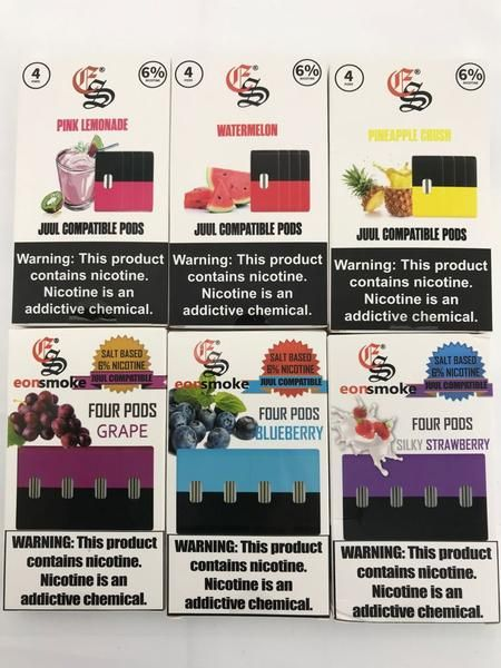 A Blast Of Fruity Flavors With Eon Smoke Juul Compatible Replacement Pods Compatible With The Juul Electronic Cigarettes The Eo Vape Juice Fruity Flavors Pods