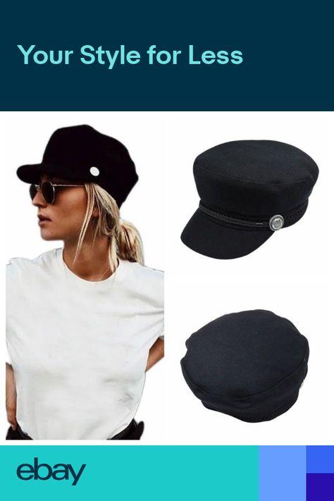 Men Women Winter Greek Fisherman Sailor Cap Fiddler Hat Peaked Cap Sport US 61ab06521004