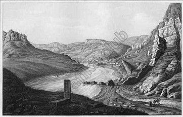 Vid Na Araks I Na Razvaliny Mosta Dzhulfa 1843 Frederik Dyubua De Monpere Puteshestvie Po Kavkazu History Painting Art