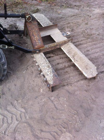 Adjustable Harrow And Leveling Implement 5 Steps Harrow Tractor Accessories Tractor Implements