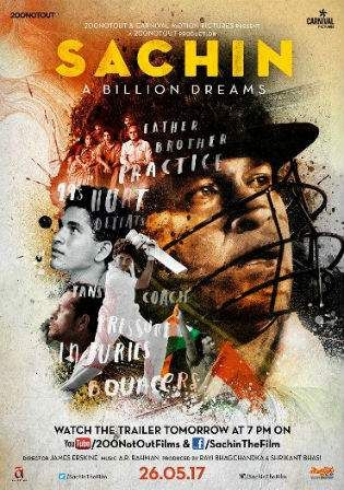Sachin A Billion Dreams 2017 Hdrip 400mb Hindi Movie 480p In 2020