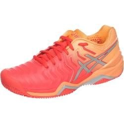 Asics Gel-Resolution 7 Clay Sandplatzschuh Damen - Koralle ...