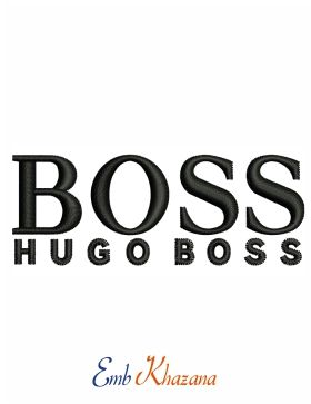 2f477384a72293 Hugo Boss Logo Embroidery Design | Fashion And Clothing Logos ...