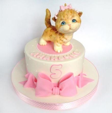 Trendy Birthday Cake Baby Girl Cat Ideas Cake Birthday Baby