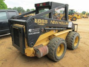 Hydraulic New Holland Lx865 Skid Steer Loader Illustrated Parts