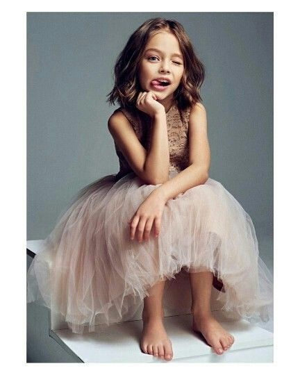 Pin By Sunil On Cutes Little Models Anna Pavaga Vogue Kids Girl Fashion