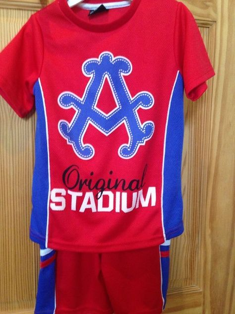 Kids Medium Size 5 Boys Original Stadium Shorts Set #akademilks