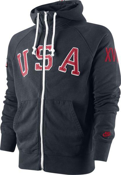 34f934bf Nike USATF AW77 Hoodie | hoodie