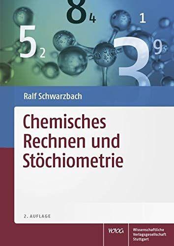 Chemisches Rechnen Und St Chiometrie Rechnen Chemisches Und Chiometrie Rechnen Bucher Maschinelles Lernen