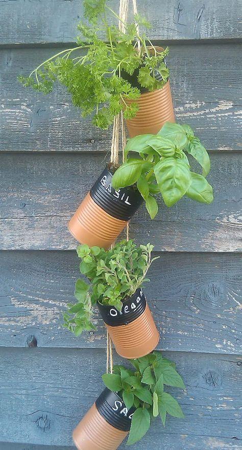 37+ Deco boite de conserve jardin inspirations
